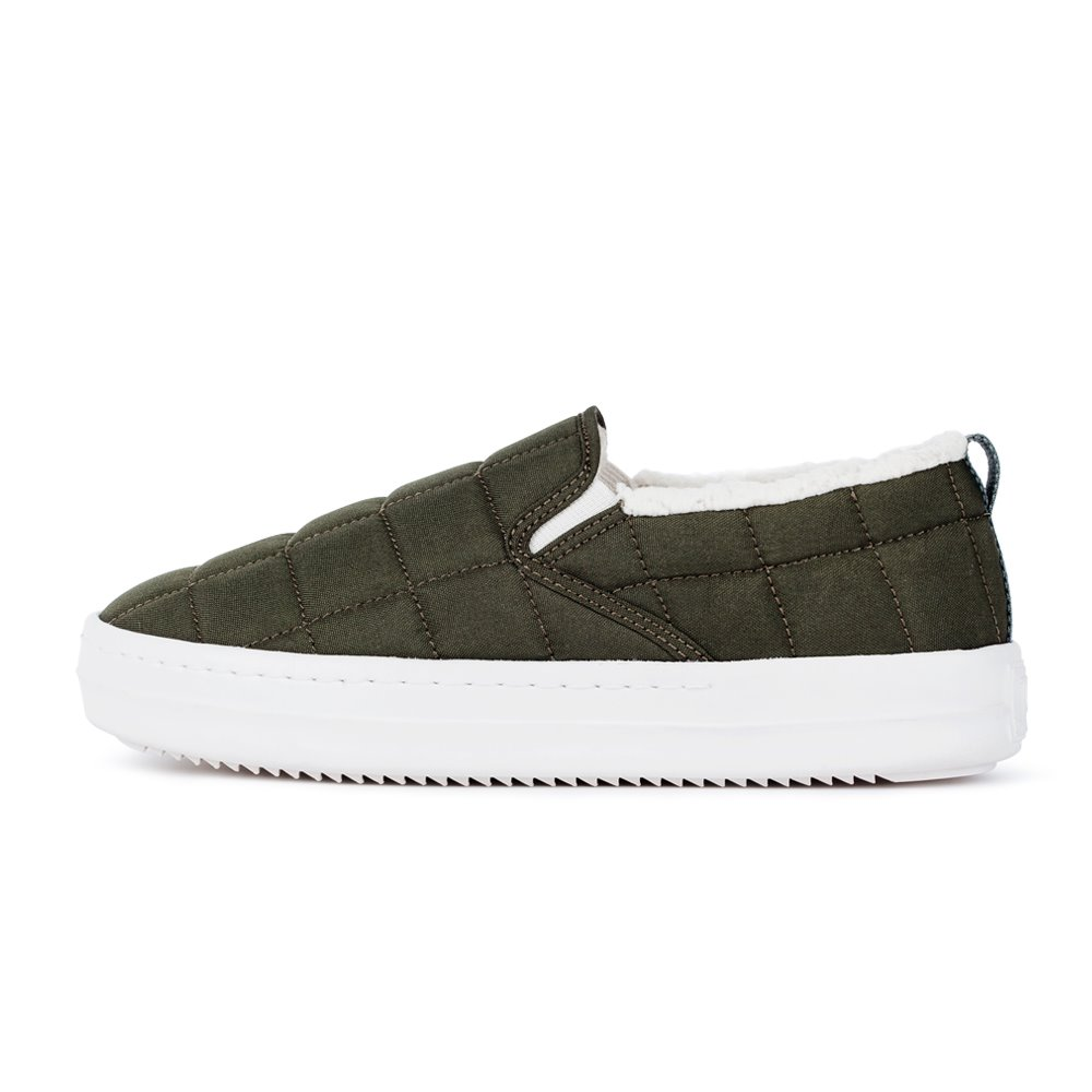 아샤 패딩슬립온 카키ASHA PADDING SLIP-ON KHAKI JD00